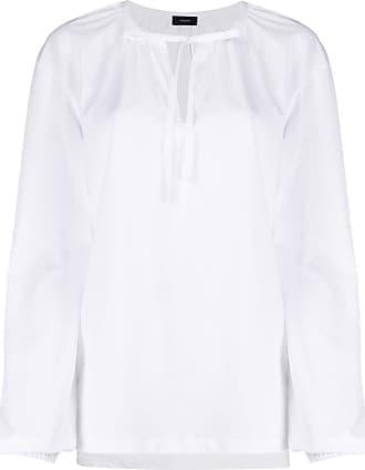 Joseph keyhole detail tunic top - White