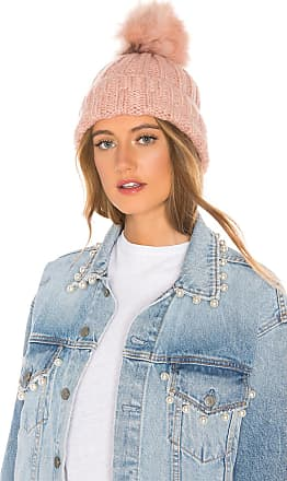 Hat Attack Slouchy Rib Beanie in Pink