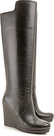 d5e619e1fdf1d Chaussures Prada® en Noir   jusqu  à −68%