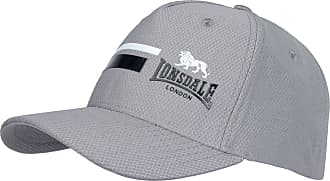 Lonsdale Mens Mesh Cap Baseball Breathable Lightweight Training Charcoal Mens