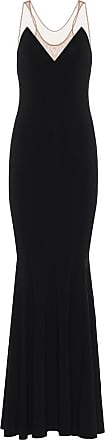 Norma Kamali Racer stretch-jersey maxi dress