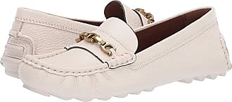 c2689b5753a Coach Crosby Driver (Chalk Leather) Womens Slip on Shoes