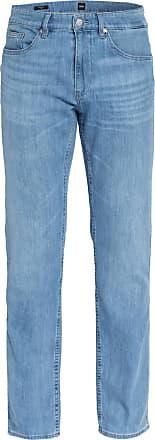 BOSS Jeans DELAWARE Slim Fit - 442 TURQUOISE/AQUA BLUE
