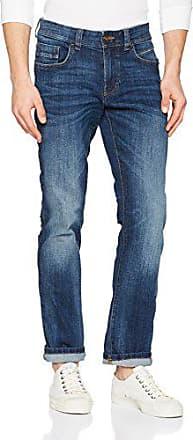 camel active Herren 488445 7Z73 Straight Jeans, Blau (Bleach