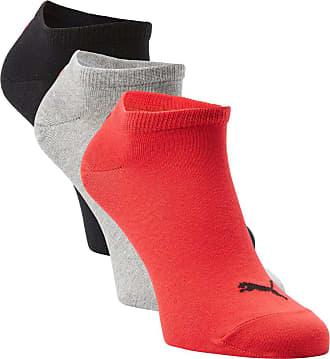 Puma Herren Sneakersocken im 3er-Pack rot