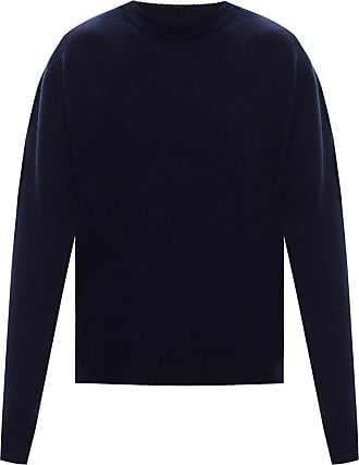Jil Sander Cashmere Sweater Mens Navy Blue