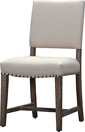 New Pacific Direct 3900001-LS Arthur Fabric Chair,Set of 2 Furniture, Light Sand
