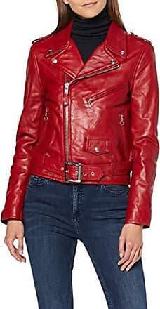 Giorgio Di Mare Leren jas rood   BrandAlley