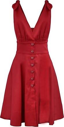 Anne Fernandes Vestido Godê Vermelho