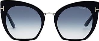 Tom Ford Eyewear Óculos de Sol Gatinho Preto - Mulher - 55 US