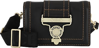 Versace Jeans Couture Cross Body Bags - Leather Belt Bag Black - black - Cross Body Bags for ladies