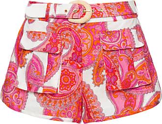 Zimmermann Shorts Peggy Estampado - Mulher - 0 AU