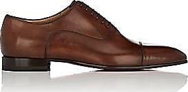 30376eab4a8e Christian Louboutin Mens Greggo Flat Leather Balmorals - Brown Size 8 M
