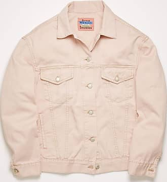 Acne Studios Acne Studios 2000 Rose Twill Powder pink Relaxed-fit denim jacket