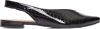 Anacapri Sapatilha Slingback Croco - Preto