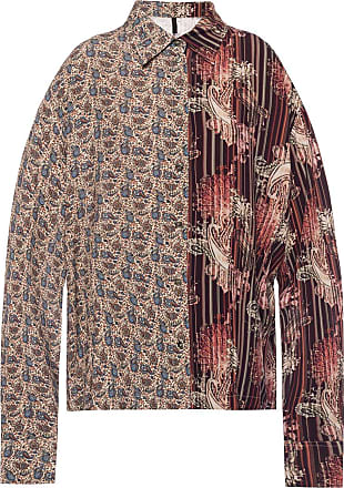 Unravel Patterned Shirt Womens Multicolour