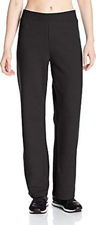 Hanes ComfortSoft EcoSmart Womens Cinch Bottom Leg Sweatpants/_Slate Heather/_L