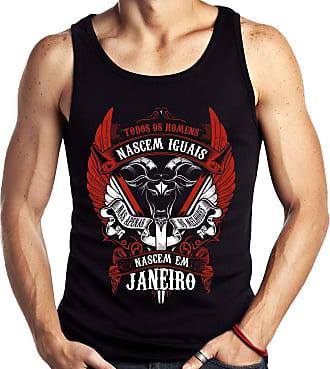Dragon Store Camiseta Regata Homens de Janeiro Capricornio os Melhores Signo