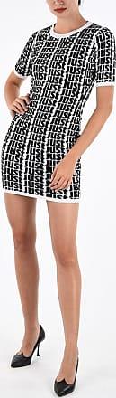 Just Cavalli All Over Logo Knit Sheath Dress size Xl