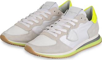 Philippe Model Sneaker TRPX LU - WEISS/ GRAU/ NEONGELB
