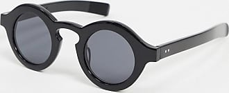 Spitfire Cut Twelve circular sunglasses in black