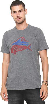 Reef Camiseta Reef Water Grafite