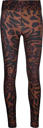 Koral Leggings Drive leopardati - Color marrone