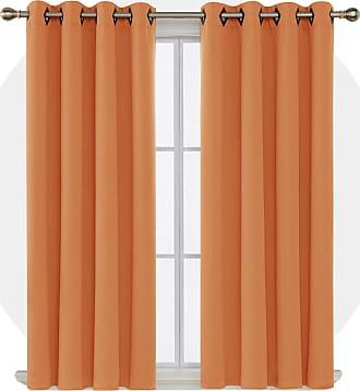 Deconovo Soft Microfiber Pillowcase Set Quality 2-Piece Orange