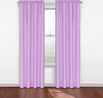 Eclipse Kids Polka Dots Blackout Window Curtain Panel - 84L x 42W in. Purple - 12424042X084PUR