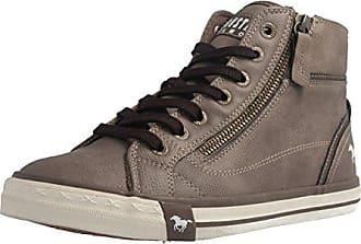 Mustang Shoes High Top Sneaker in Übergrößen Braun 1209-502-308 große  Damenschuhe, a4b7c1faee