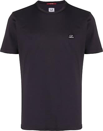 C.P. Company Camiseta com patch de logo - Preto