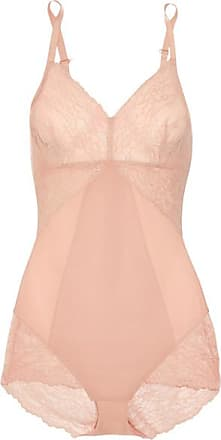 Spanx Spotlight Stretch-tulle And Lace Bodysuit - Neutral f3afd9244
