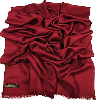 CJ Apparel Maroon Fringe Solid Colour Design Shawl Scarf Wrap Stole Throw Pashmina Pashminas CJ Apparel NEW