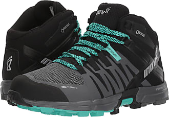 Inov-8 Inov8 Roclite 320 GTX Womens STANDARD FIT Trail Running Shoes/Boots Black/Grey/Teal UK 7
