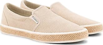 34676837c1 GANT Fresno Perforated Slip On Dry Sand Suede