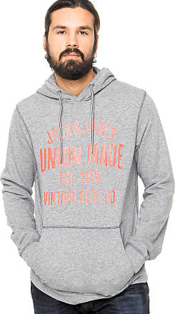 Jack & Jones Moletom Jack & Jones Original Cinza
