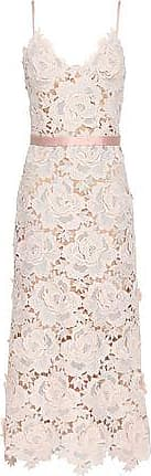 Catherine Deane Catherine Deane Woman Frida Guipure Lace Midi Dress Blush Size 12