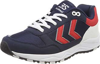 eb0f25b506bada Hummel Adults 3-S Sport Trainers Blue (Peacoat 7666) 7.5 UK