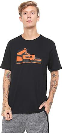 Fatal Surf Camiseta Fatal Estampada Preta