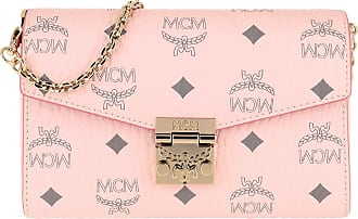 MCM Cross Body Bags - Visetos Millie Crossbody Small Powder Pink - rose - Cross Body Bags for ladies