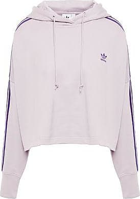 Adidas Originals Cropped Hoodie Clear Lilac
