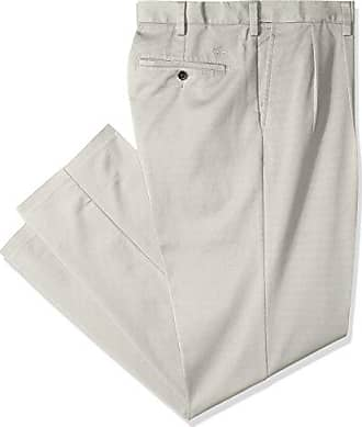 Dockers Mens Big and Tall Classic Fit Easy Khaki Pants - Pleated, Cloud (Stretch), 52 28