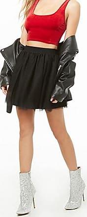 Forever 21 Forever 21 Tulle Mini Skirt Black