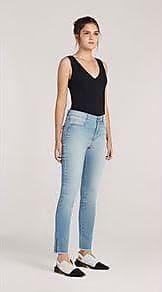 Lebôh Calça Skinny Pietra Cos Intermediario Clara Jeans 40