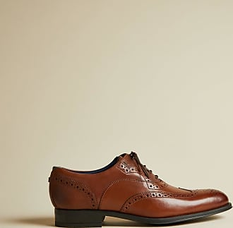 Ted Baker Classic Leather Brogues in Tan MITTAL, Mens Accessories