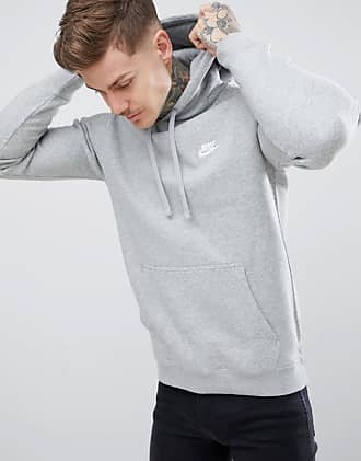 93c699f81332 Nike pullover hoodie with embroidered logo in grey 804346-063