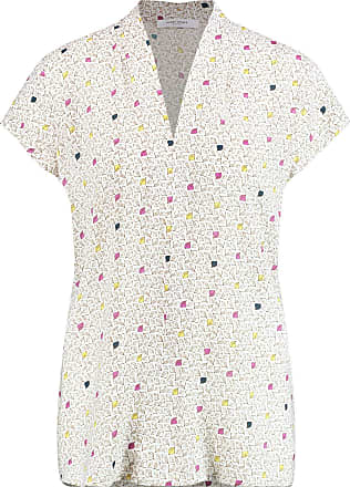 Gerry Weber Womens 260043-67184 Blouse, Multi (Off-White-Frappe-Citrus 9140), (Herstellergröße: 40)
