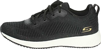Petite Femme Sneakers Noir Skechers 32502 BKMT wqUxEZ