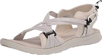 Columbia Womens Sandal, White (Fawn, White 102), 5 UK