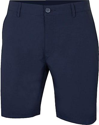 Calvin Klein Golf Mens Slim Fit Micro Tech Shorts - Navy - 38